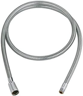 GROHE 46 092 000 Pull-Out Spray Replacement Hose, Starlight Chrome (Pack of 2)