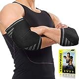 Best Elbow Wraps - Langov Elbow Brace For Men And Women (Pair) Review