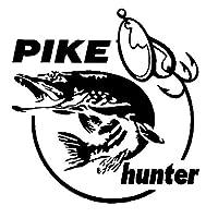 カーステッカー Rハンタースポーツ釣り魚ステッカー修正車のステッカー (Color : 1)