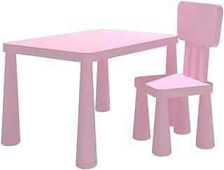 Beautiful Tables Desk Stand Toys Children's 1 Chairs Set PP Multi-Colour (color : T3),Colour:T2 (Color : T1)