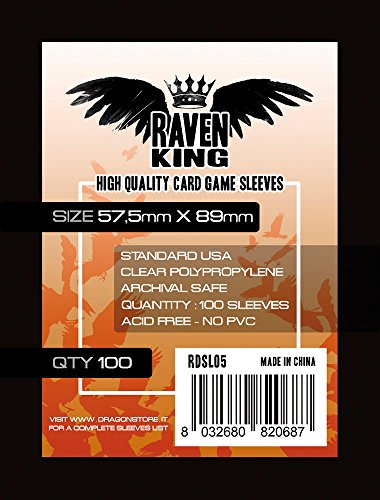 Raven- Bustine Protettive, 8.9 x 5.75 cm, RDSL05