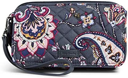 Vera Bradley Signature Cotton All in One Crossbody Purse with RFID Protection Felicity Paisley product image