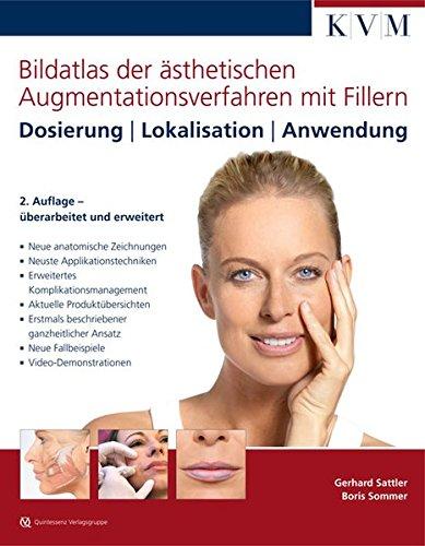 Bildatlas der ästhetischen Augmentationsverfahren mit Fillern: Dosierung | Lokalisation | Anwendung
