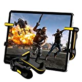 Mobile Game Controller for iPad/Tablet, PUBG Mobile Trigger Controller with Game Joystick, L1R1 Sensitive Aim and Shoot Gamepad Trigger