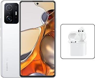 Xiaomi 11T Pro Dual SIM Amoled DotDisplay Moonlight White 8GB RAM 256GB 5G + Mi True Wireless Earphones 2S, Xioami 11T Pr...
