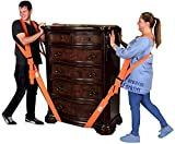 Forearm Forklift FFMCVP Harness 2-Person Shoulder Lifting and Moving System for Furniture, Appliances, Mattresses or Heavy Objects up to 800 Pounds, Orange