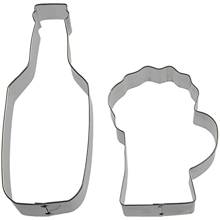 Beer Mug with Foam cookie and fondant cutter US SELLER!!