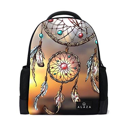 My Daily Beautiful Dream Catcher Boho Style Zaino 14 pollici Laptop Daypack Bookbag per viaggi universitari scuola