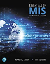 Essentials of MIS (13th Edition)