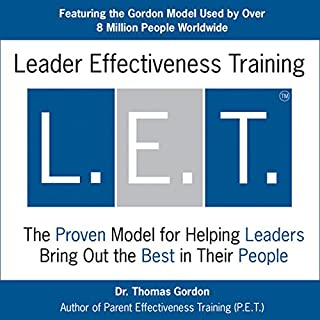 Leader Effectiveness Training (L.E.T.) audiobook cover art