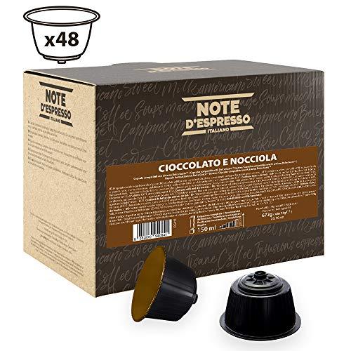 Note D'Espresso Hazelnut Chocolate-Kapseln, ausschließlich Kompatibel mit Nescafé* und *Dolce Gusto* Kapselmaschinen 14g x 48 Kapseln