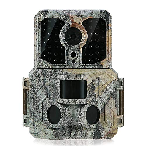 Cámara De Vida Silvestre Cámara de Caza de 1080P 30FPS con 32pcs 850nm IR Leds Visión Nocturna 0.2s Tiempo de activación para Scouting Hunting (Color : Camouflage, Size : One Size)