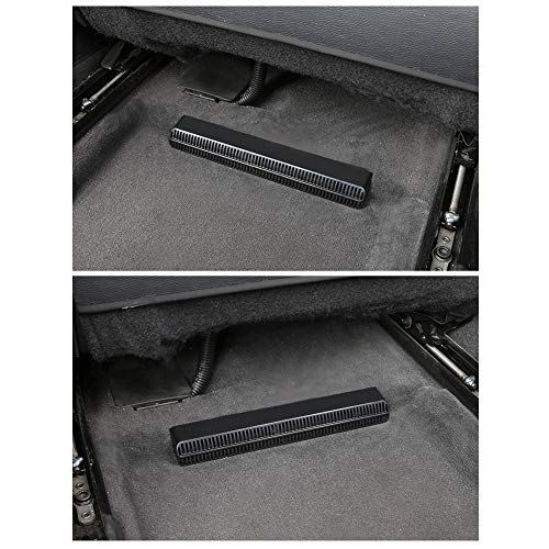 LFOTPP Auto Air Vent-afdekking voor A6 A7 achterbank airconditioning Outlet Cover [2 stuks]