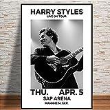 MZCYL Plakat Und Drucke Harry Styles 2018 Tour Music Star
