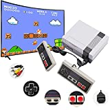 Classic Mini Retro Game Console, Built-in 620 Classic Games and 2 Classic Controller, Bring You Back to Childhood Memories