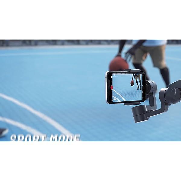 VanTop Nimbal M3 Stabilizzatore Gimbal - Stabilizzatore Smartphone a 3 Assi, 15 Ore Durata della Batteria, con Custodia Portatile e Mini Treppiede, per iPhone e Android Samsung Huawei Xiaomi 7 spesavip