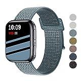 Wengerui Compatible avec Watch Bracelet 42mm/44mm, Nylon Bracelet de Bande...