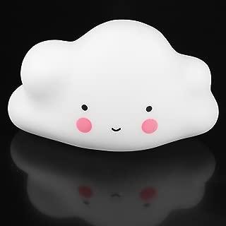 CandyQ Nursery Lamp, Childrens Bedroom Cute Cloud Face Night Light