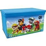 Fun House 712552Pat Patrouille–Banco de almacenaje para Mural Infantil Rojo 55,5x 34,5x 34cm