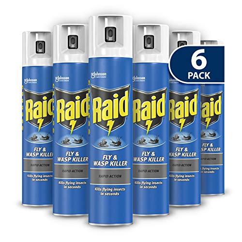 Raid Rapid Action Fly & Wasp Killers