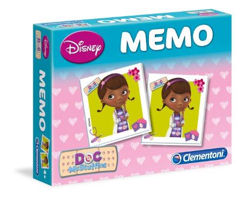 Clementoni - 13446.5 - Jeux de mémo - Doc McStuffins