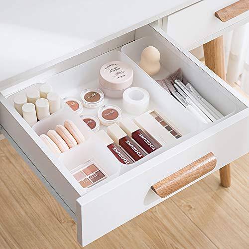 Poeland Cajón organizador bandeja caja de almacenamiento para dormitorio, aparador, baño, cocina