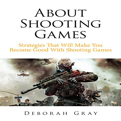 About Shooting Games audiobook cover art