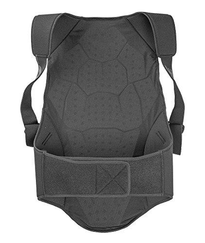 Dainese Herren Safety Back Protector Soft Flex, Schwarz/Grün, XL
