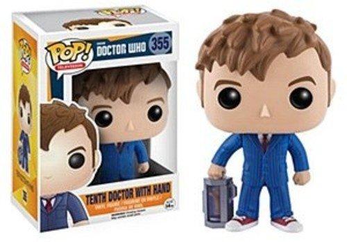 DOCTOR WHO- Figura de Vinilo 10th Doctor (Funko 10680)