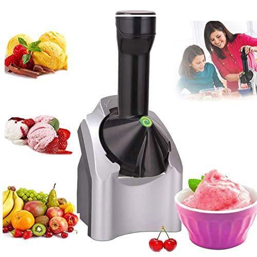 KCSds Fruit Soft Stefer LCE Cream Cream Make, Fabricante de Helados electrónicos, casero portátil recién actualizado Helado casero rápido, Usado para Hacer Delicioso Helado, Sorbete y Postre Yogurt