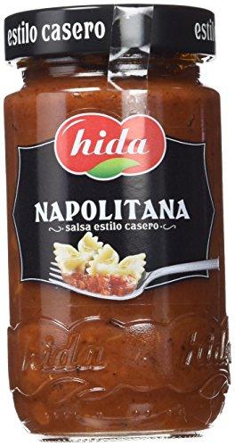 Hida Salsa Napolitana - Paquete de 6 x 350 gr - Total: 2100 gr