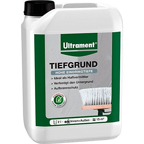 Ultrament Tiefgrund, weiß, 2l
