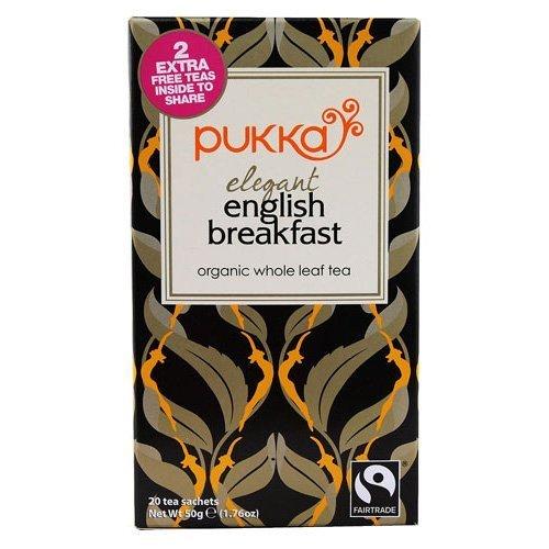 Pukka Herbs Elegant English Breakfast Tea 20 Sachet x 1 by Pukka Herbs