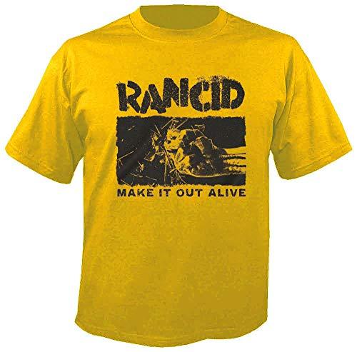 Rancid - Make it Loud Alive - T-Shirt Größe L