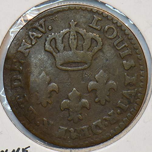1789 FR France 1789 Guiana 2 Sous Cayenne 296986 DE FAIR