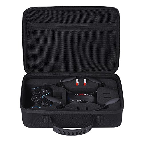 Zaracle Hard Carry Case Traveling Bag Storage Cases for Holy Stone F181C RC Quadcopter Drone and F181W WiFi FPV Drone