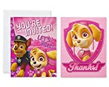 American Greetings Nickelodeon Paw Patrol Invite and Thank-You Card Combo Pack, 8-Count