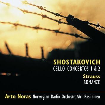 Shostakovich: Cello Cti 1 & 2 * R Strauss: Romance in F