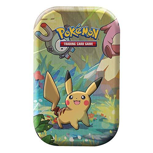 Lively Moments Pokemon Karten Mini Tin Box Pikachu DE Deutsch Sammelkarten / Metallbox