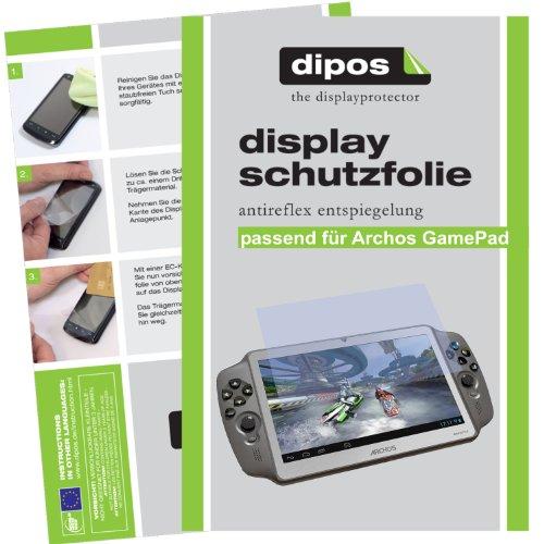 dipos I 2X Schutzfolie matt kompatibel mit Archos Gamepad Folie Displayschutzfolie