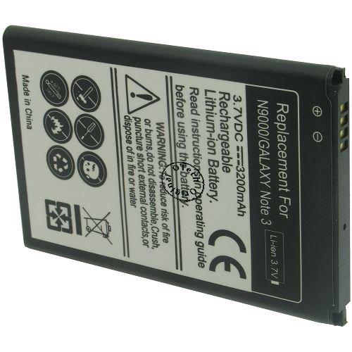 Otech bateria Compatible para Samsung SM-N9005 Galaxy Note 3