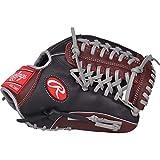 Rawlings R9 Series Baseball Glove, Black, 11.75, Right Hand Throw