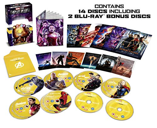 Blu-ray14 - Marvel Cinematic Universe Phase 3 Part 2 Box set (14 Discs) (14 BLU-RAY)