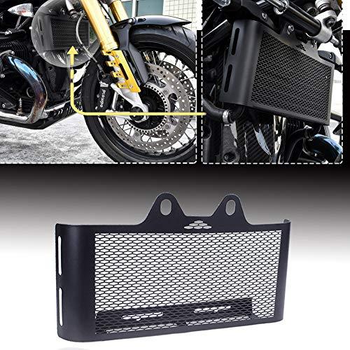 Lorababer Motorrad RNineT Black Grill Kühlerschutz Abdeckschutz für 2014-2020 B-M-W R Nine T Pure Racer UrbanG/S Scrambler R9T
