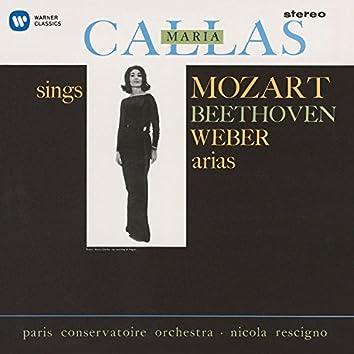 Callas sings Mozart, Beethoven & Weber Arias - Callas Remastered