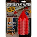 painting cones - Painters Pyramid Stands 10/Pkg-Red
