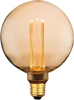 E12 3.5W CA10 LED Filament Light Bulb Clear Amber 2700K 2200K AC120 UL Dimmable