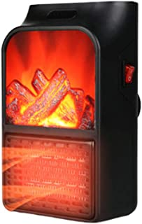 QAZWSX Mini Calefactor,Calefactor Cerámico Pantalla De Temperatura Calentamiento Silencioso Protección Sobrecalentamiento Ahorro De Energía Apto para Hogar Cuarto