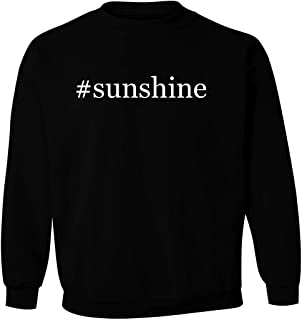 #sunshine - Men's Hashtag Pullover Crewneck Sweatshirt