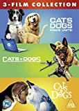 Cats & Dogs 3 Film Collection [DVD] [2020]